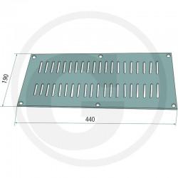 04 GRANIT Ventilatierooster 440 x 190 mm