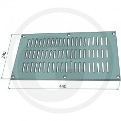 06 Ventilatierooster 440 x 240 mm
