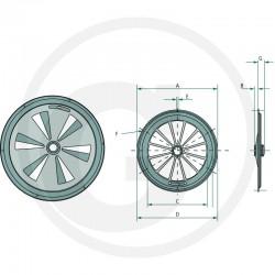 04 Ventilatie draairooster 160 mm