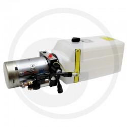 03 Hydrauliekaggregaat 12 V Tank 9,8 L