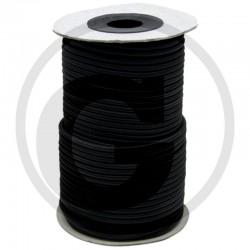 04 Spankoord Ø 8 mm per meter zwart