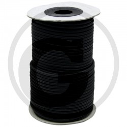 03 Spankoord Ø 8 mm per 100 m zwart
