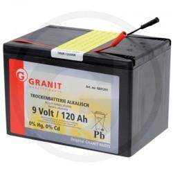 02 Alkaline batterij 9V/120 Ah kleine behuizing