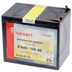 03 Alkaline batterij 9V/160 Ah groot huis