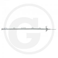 02 Afrasteringspaal kunststof 150 cm