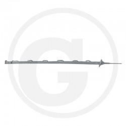 05 Afrasteringspaal 105 cm met vlakke kop