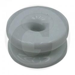 10 Hoekrol van porselein Ø 37 mm