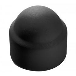 12 Moerkappen M12 zwart per 50 stuks