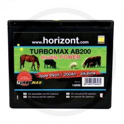 01 Droge batterij TURBOMAX AB 200 9 Volt, 200 Ah