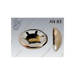 10 Snelborger met kap 10 mm per 50 stuks
