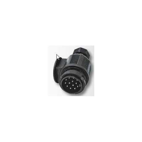03 Aanhanger-Trailer- stekker metaal 13 polig model