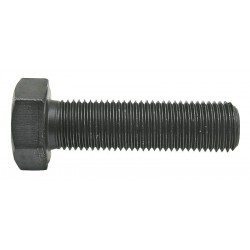 02 Zeskantbout 8 × 1 × 25 mm per 200 zwart 10.9 voldraad
