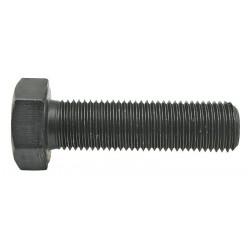09 Zeskantbout M12 × 1.25 × 80 mm per 50 zwart 10.9 voldraad