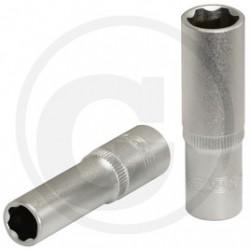 "KS Tools 3/8"" SUPERLOCK-Dopsleutel, lang, 17 mm"