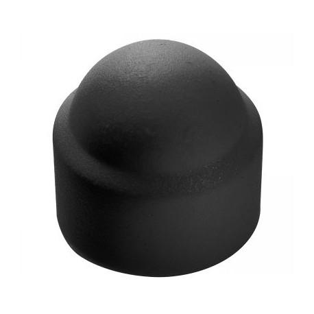01 Moerkappen M4 zwart per stuk