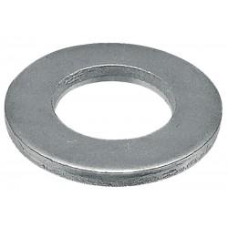 02 Vlakke sluitringen 4.3 mm kunststof per stuk
