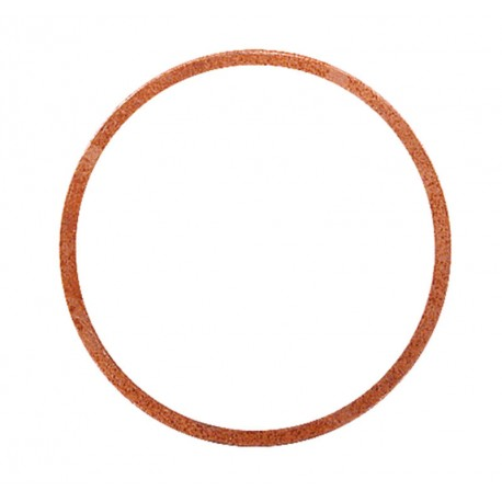 22 Vlakke koper ring 32 x 38 x 2  mm per stuk