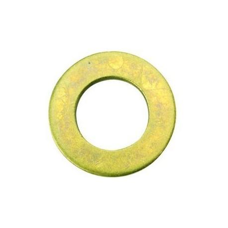 03 Sluitring 4.3 mm Messing per stuk