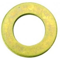 04 Sluitring 4.3 mm Messing per 100