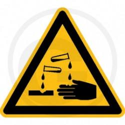 05 Waarschuwing voor bijtende stoffen
