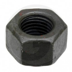 04 Zeskantmoer M12 x 1 mm 8.8 zwart per stuk