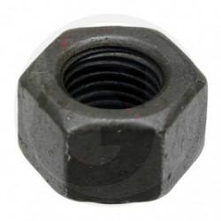 12 Zeskantmoer M20 x 2 mm 8.8 zwart per stuk