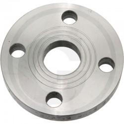 14 Platte flens staal PN10 395 mm