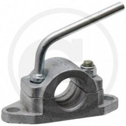 06 Steunwielhouder voor geribbelde steunwielen 48 mm