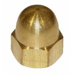03 Messing dopmoer M4 per stuk