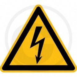 Waarschuwingssymbool elektrische spanning