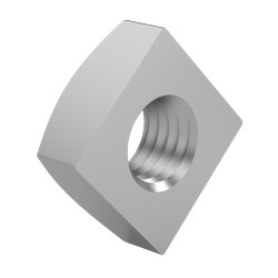 09 moeren vierkant m12 per stuk rvs