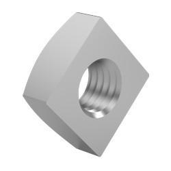 10 moeren vierkant m12 per 100 rvs