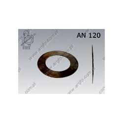 Bearing preload spring K  Schnorr 109×70,5×1,25  phosph.  AN 120