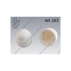 Protecting cap for hex head bolt  S 8(M 5)  white  AN 283