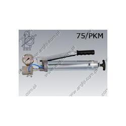 Grease gun 75/PKM  400 bar/release valve M10×1