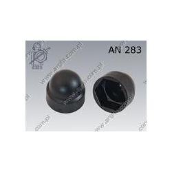 Protecting cap for hex head bolt  S22(M14)  black  AN 283