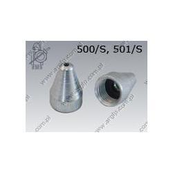 Nozzle  500/S M 9×1    AN 493