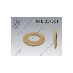 Contact washer  N picot 16,4(M16)  fl Zn  NFE 25-511