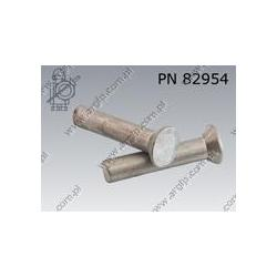 Countersunk head rivet  4×20-Al   AN 163