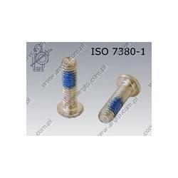 Hexagon socket button head screw  FT M 6×20-010.9 zinc plated DIN 267-28 KLF ISO 7380-1