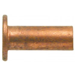 02 Klinknagels, koper 3 x 10 mm