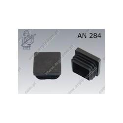 Pipe cap  30×30-PE black  AN 284