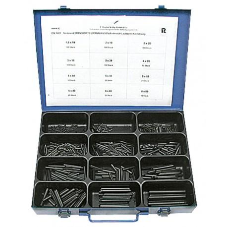 Assortimentsdoos spiraalstiften inhoud 710 stuks