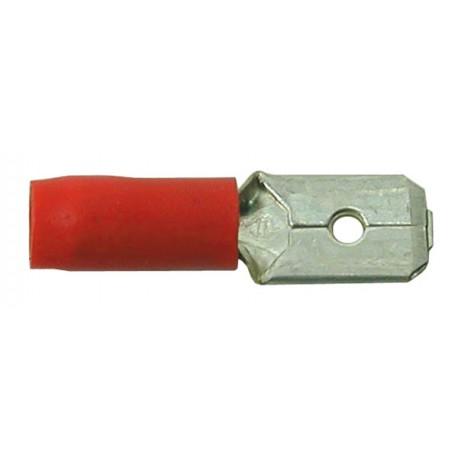 01 Vlakstekker man kleur rood