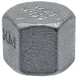 """02 Kap 1/4"""" zeskant met binnendraad"""