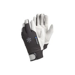 02 Generfd geitenlederen handschoenen Maat 9