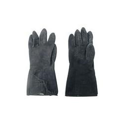 02 Neopreen handschoenen Kleur zwart Maat 9