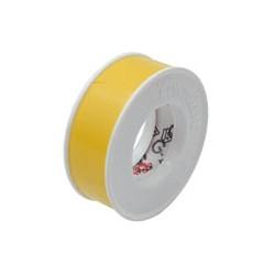 03 Rol isolatieband, pvc geel op rol van 10 Meter.